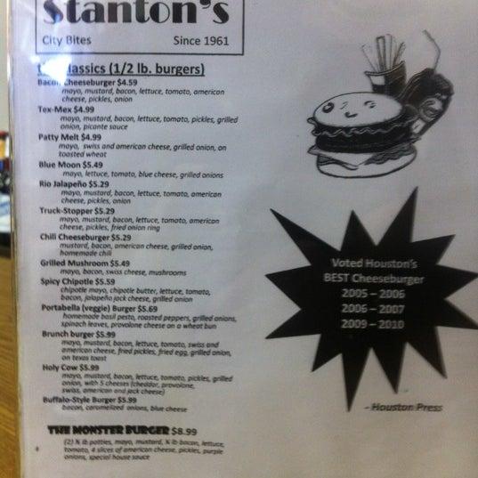 Photo taken at Stanton's City Bites by Brandon B. on 12/13/2012
