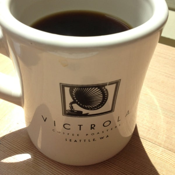 Photo taken at Victrola Cafe and Roastery by Wiebke K. on 6/11/2013