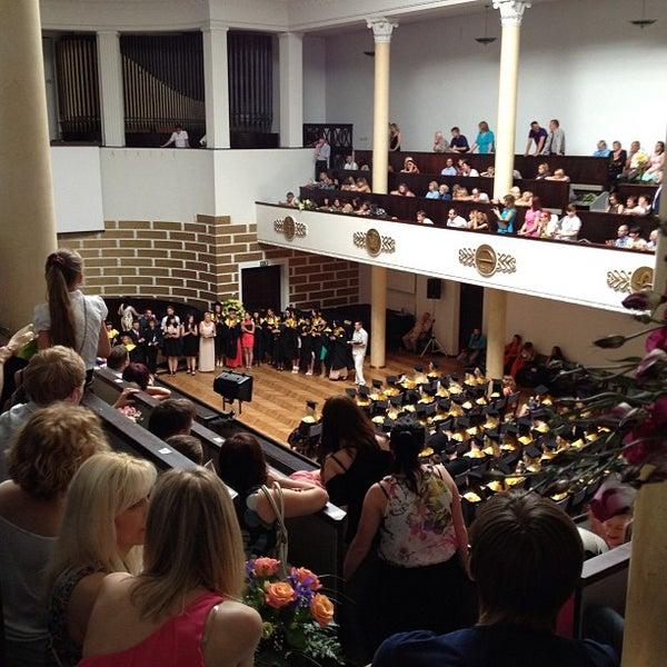 Photo taken at University of Latvia by Jānis on 6/22/2013