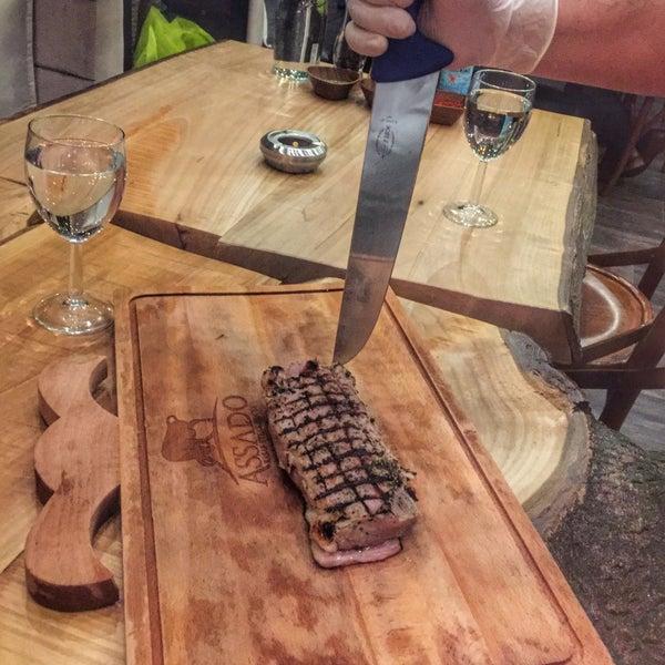5/24/2016 tarihinde Alperen D.ziyaretçi tarafından Assado Steak House'de çekilen fotoğraf