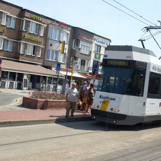 Photo taken at Station Blankenberge by Kerime on 7/22/2013