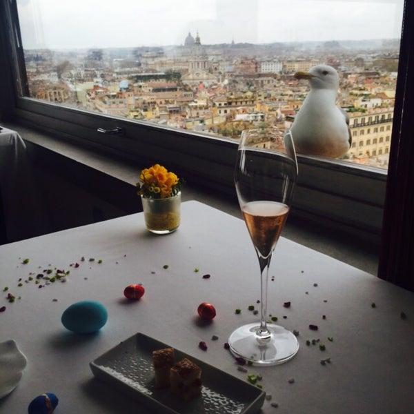 Amazing view...Amazing dishes...Amazing wine selection...