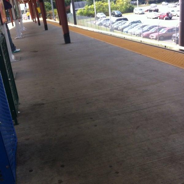 Photo taken at PATCO: Ashland Station by Ugo on 9/27/2013