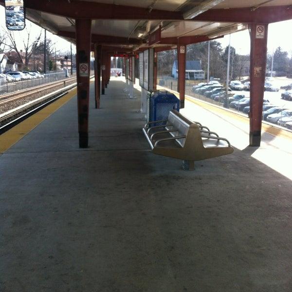 Photo taken at PATCO: Ashland Station by Ugo on 2/20/2013