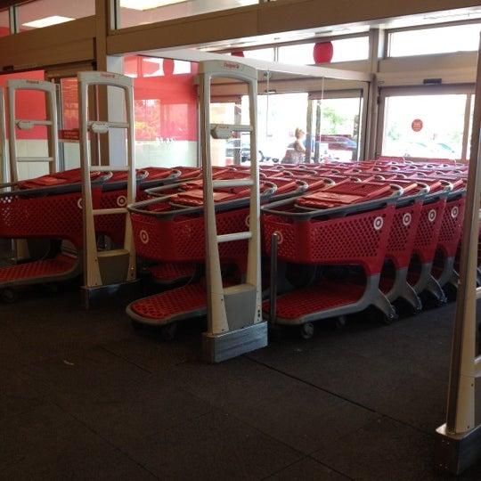 Plenty of carts inside, always.