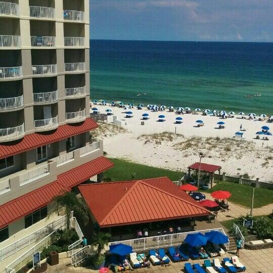 Photo taken at Hilton Pensacola Beach by David M. on 7/1/2016