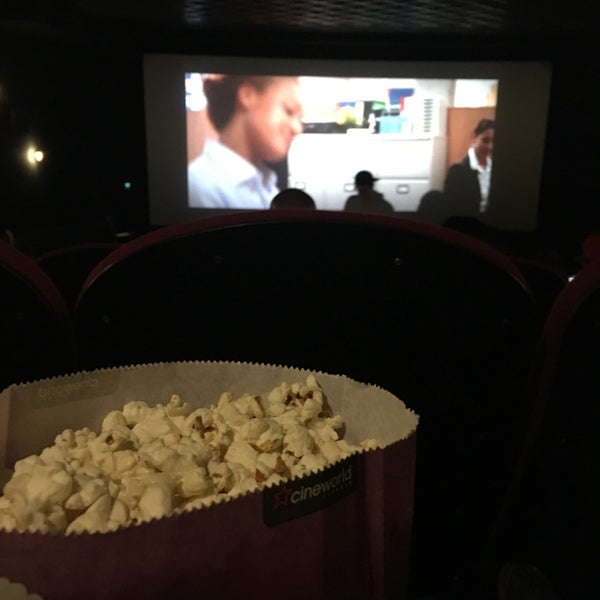 Photo taken at Cineworld by Fatimah H. on 3/25/2016