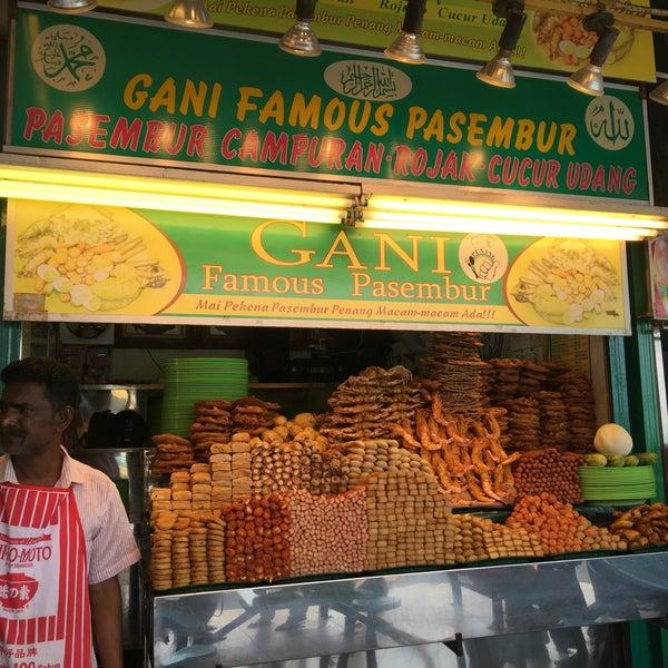 Photo taken at Gani Famous Pasembur by Rere H. on 8/7/2016
