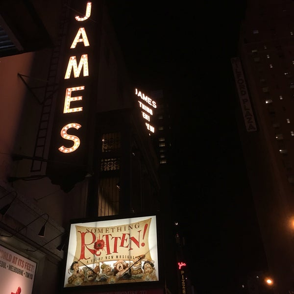 Photo taken at St. James Theatre by Ian James R. on 12/10/2016