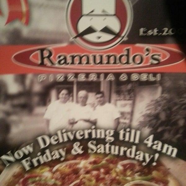 Photo taken at Ramundo's Pizza by Nadia W. on 11/10/2013