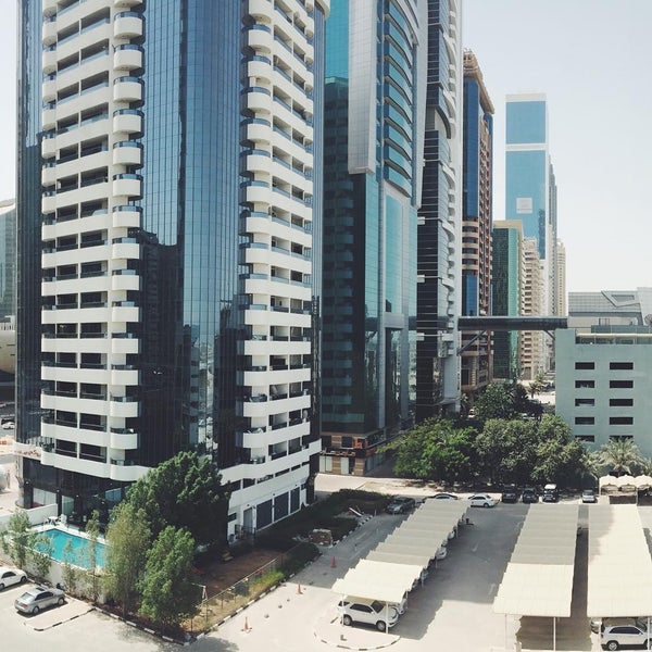 Photo taken at Towers Rotana Hotel by Mark Simon R. on 8/25/2015