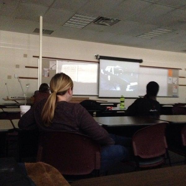 Photo taken at Oklahoma State University - Tulsa (OSU-Tulsa) by Eric B. on 11/2/2013