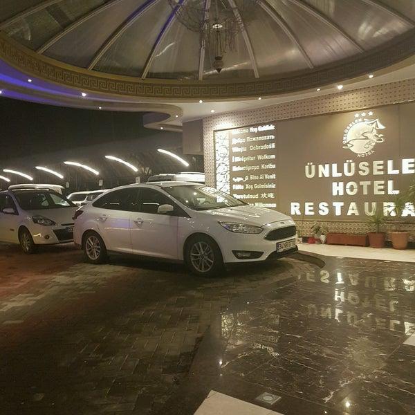 1/11/2017 tarihinde NURAY ..ziyaretçi tarafından Ünlüselek Hotel'de çekilen fotoğraf