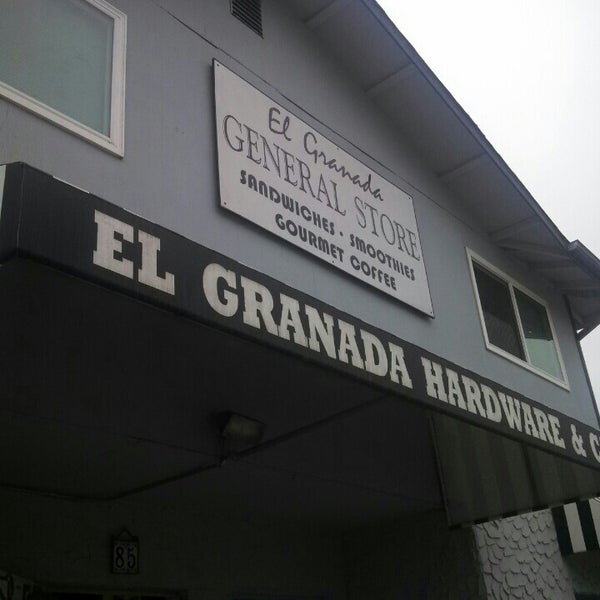 Photo taken at El Granada Hardware & Café by Abhishek S. on 7/22/2013