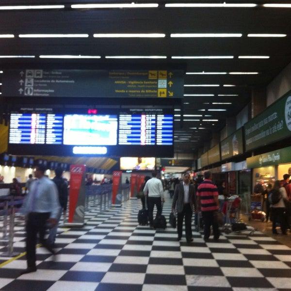 Снимок сделан в Международный аэропорт Конгоньяс/Сан-Паулу (CGH) пользователем Renata S. 6/26/2013