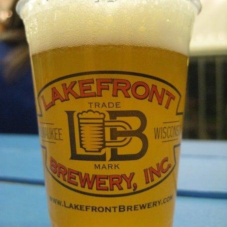 Photo prise au Lakefront Brewery par John G. le1/14/2013
