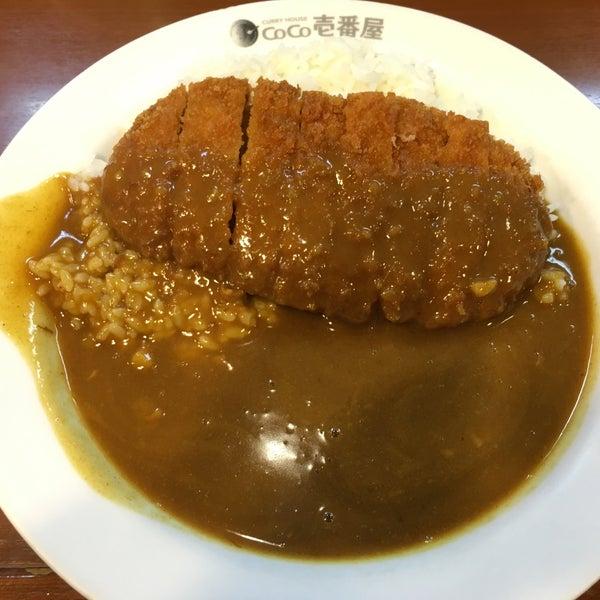 Photo taken at CoCo Ichibanya by あせろら on 1/22/2016