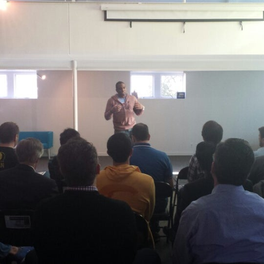 Photo taken at Tech Wildcatters (The Tech Church) by Gabriella D. on 2/26/2014