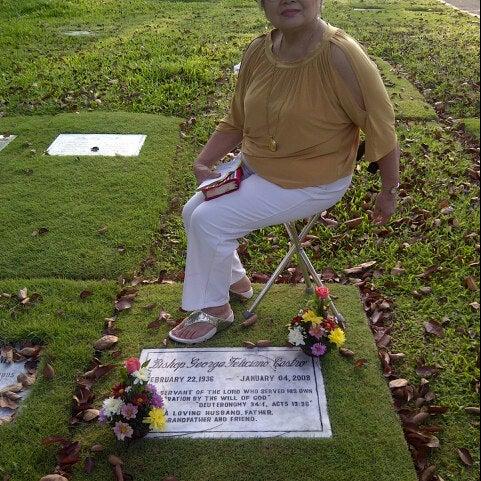 Photo taken at Manila Memorial Park by John Gabriel C. on 10/16/2012