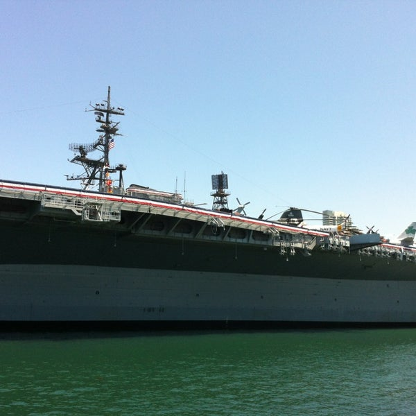 Photo taken at USS Midway Museum by Emrah İ. on 6/20/2013