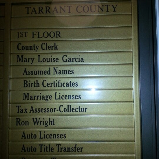 Tarrant County Tax Assessor Collector Southlake Town Square