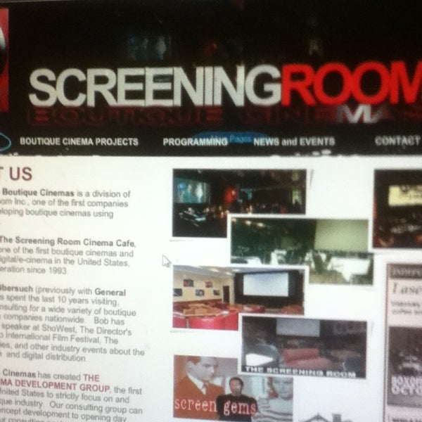 The Screening Room - Indie Movie Theater in Amherst