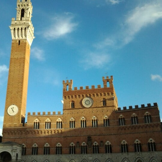 Photo taken at Piazza del Campo by k. k. on 10/27/2012