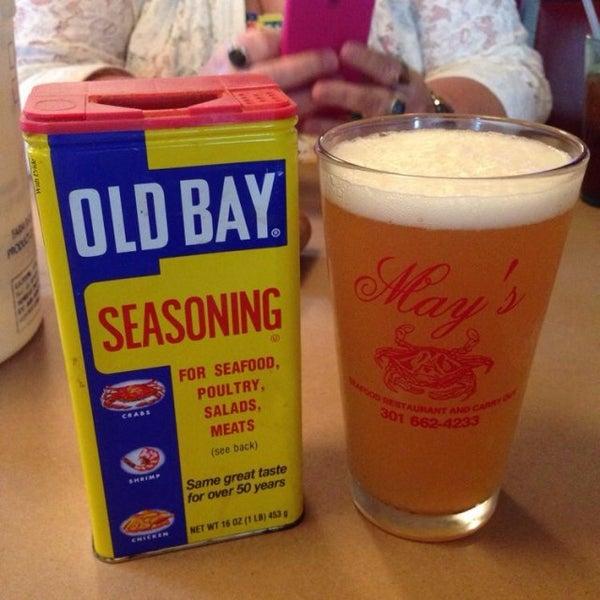 Photo taken at May's Crab & Seafood by Matt K. on 5/22/2014
