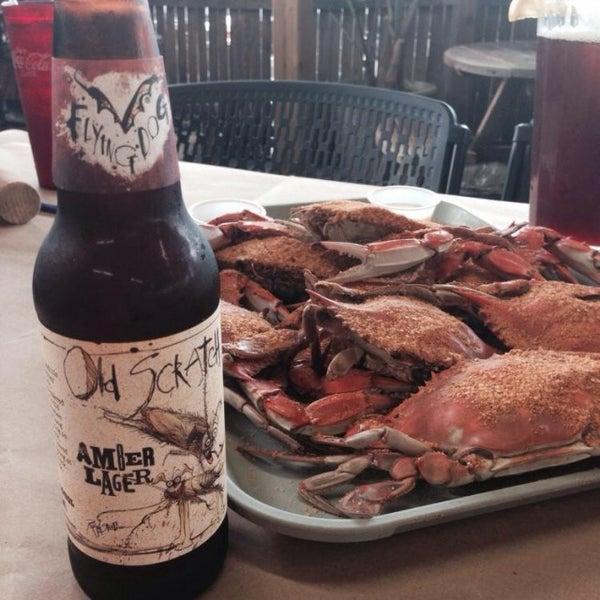 Photo taken at May's Crab & Seafood by Matt K. on 8/20/2014