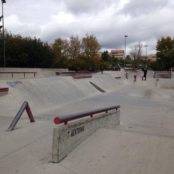 Das Foto wurde bei Скейт-парк «Садовники» von Anna F. am 9/24/2016 aufgenommen