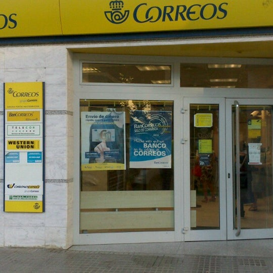oficina correos post office in badajoz