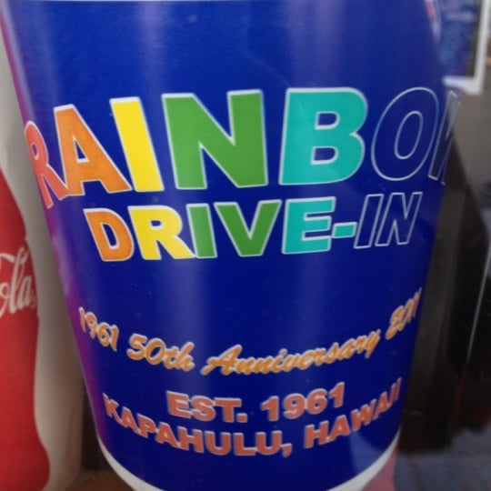 Photo taken at Rainbow Drive-in by Malia H. on 9/29/2012