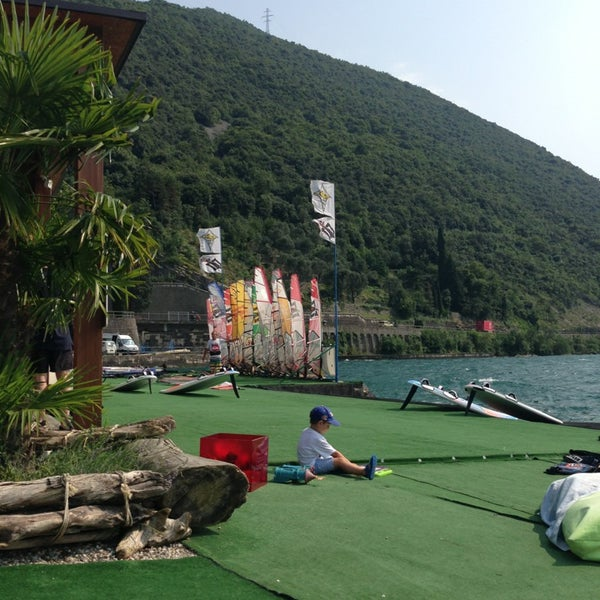 Photo taken at Shaka surf center by Giuseppe A. on 7/16/2013