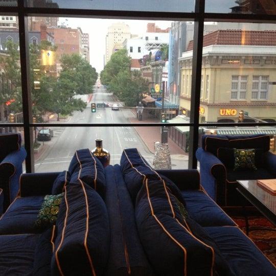 Photo taken at The Worthington Renaissance Fort Worth Hotel by Heatherly on 10/7/2012