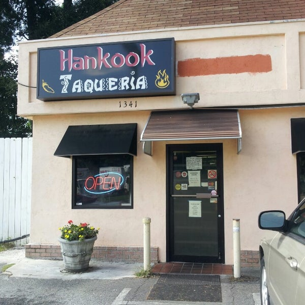 Photo taken at Hankook Taqueria by Diana H. on 9/10/2013