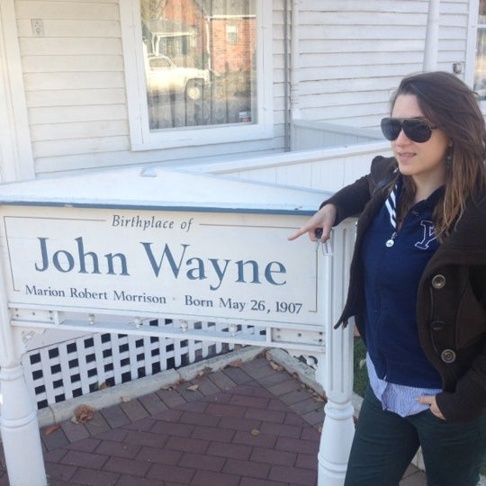 Photo taken at John Wayne Birthplace Museum by Steve M. on 10/5/2012