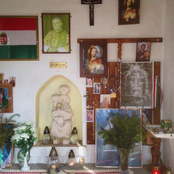 3/15/2017 tarihinde Joci D.ziyaretçi tarafından Úti Madonna Kápolna'de çekilen fotoğraf