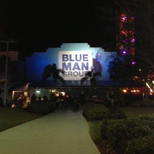 Photo taken at Blue Man Group at Universal CityWalk by Joseph B. on 12/2/2012