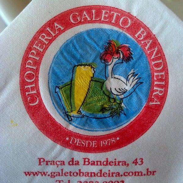 7/27/2013에 Daniel P.님이 Chopperia Galeto Bandeira에서 찍은 사진