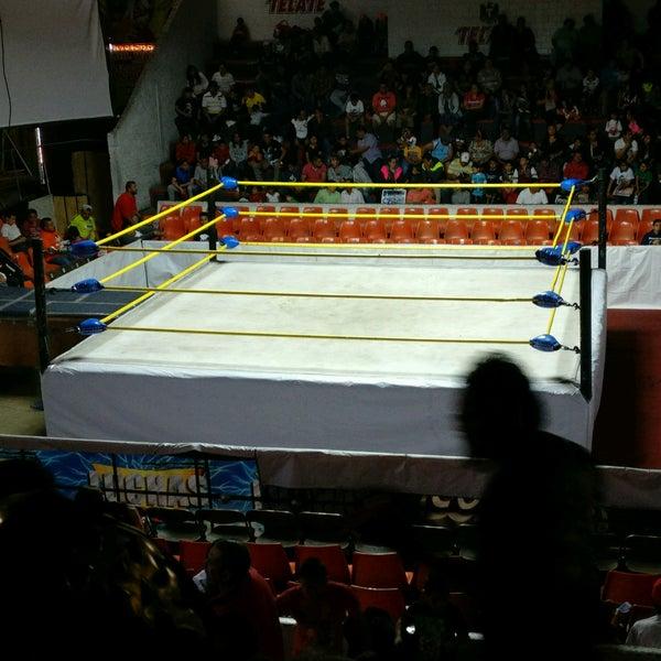 Photo taken at Arena Adolfo Lopez Mateos by Jonathan Z. on 1/1/2017