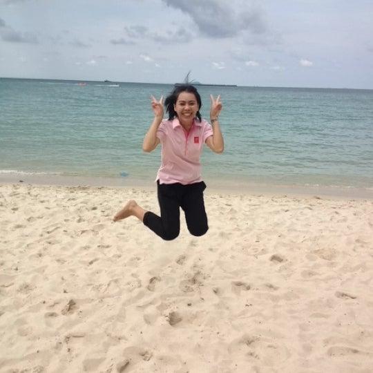 Photo taken at Sai Keaw Beach by Bangna H. on 11/9/2012