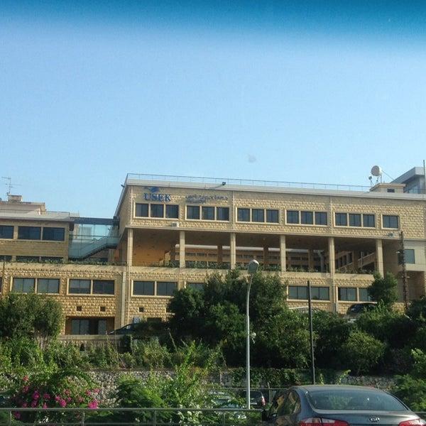 Photo taken at Holy Spirit University Of Kaslik by Mariana M. on 9/17/2014