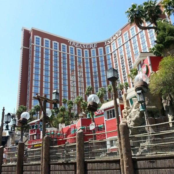 Photo taken at Treasure Island - TI Hotel & Casino by Island7007 L. on 4/13/2013