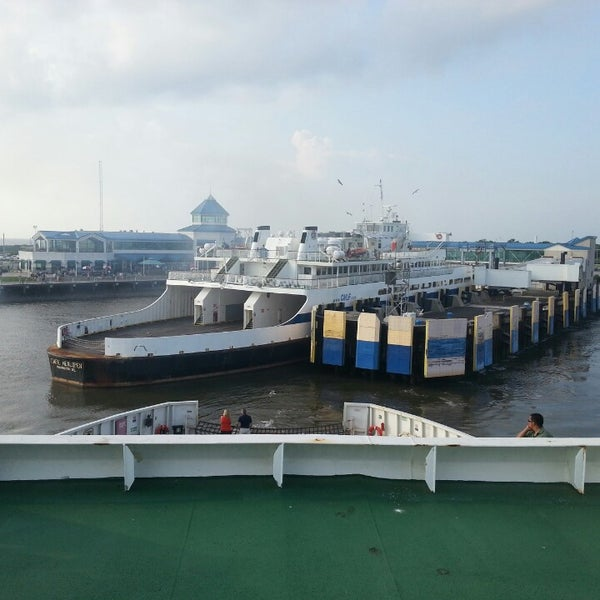 Photo taken at Cape May-Lewes Ferry | Cape May Terminal by Joe G. on 7/10/2013