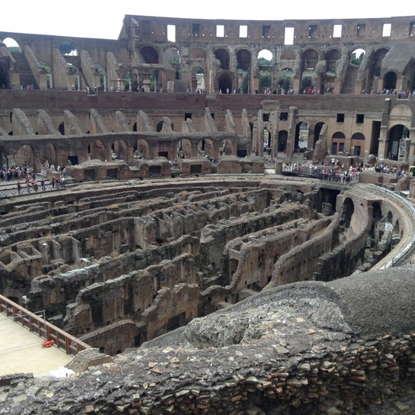 Photo taken at Piazza del Colosseo by Me M. on 6/26/2013