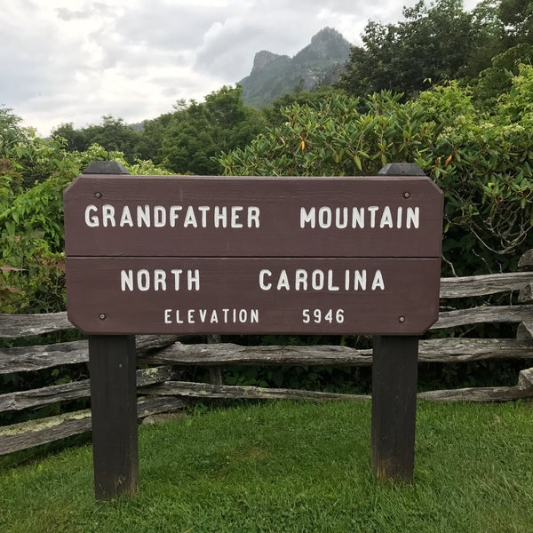 Photo taken at Grandfather Mountain by Mara J R. on 8/1/2017