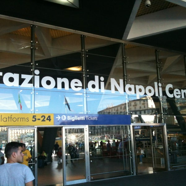 Photo taken at Napoli Centrale Railway Station (INP) by Max N. on 6/24/2013