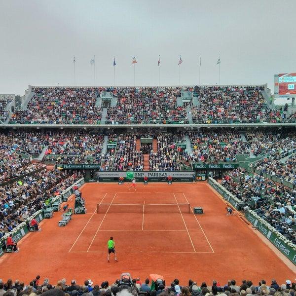 Photo taken at Stade Roland Garros by ППП on 6/9/2013