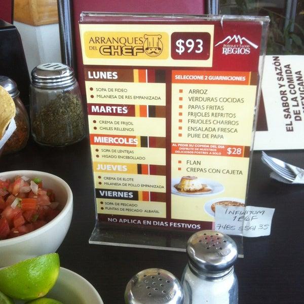 Photo taken at Pozole y Tacos Regios by Sampetrino on 8/8/2013
