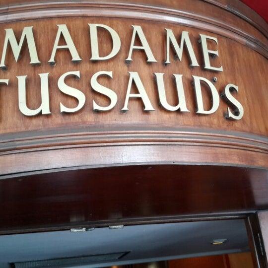Photo taken at Madame Tussauds by Hasan J. on 6/25/2013